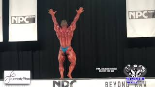 Hunter Labrada Posing Routine | NPC National Championships 2018