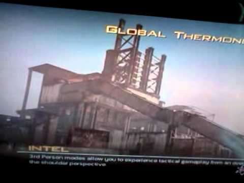 Global thermo nuclear war mw2