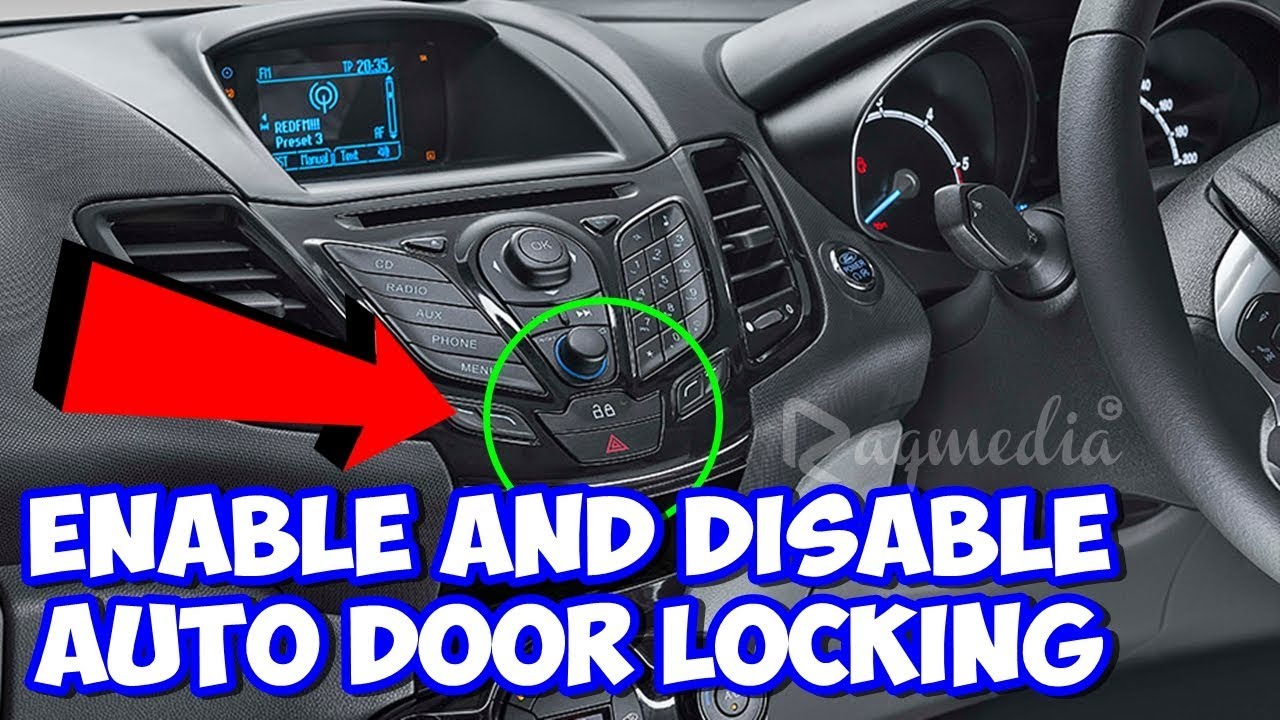 How To Enable and Disable Auto Door Locking in Ford