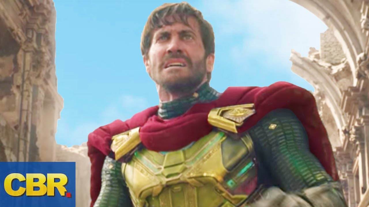 What Nobody Realized About Mysterio In Spider Man Far From Home