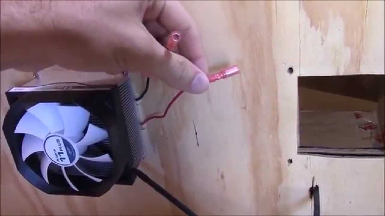 How To Wire A Peltier Cooler Or Tec Youtube