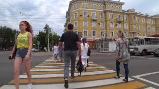 #4. Кемерово, пешие прогулки. 4K