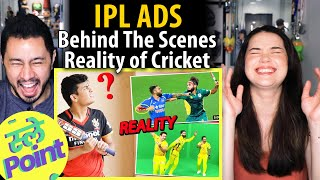 SLAYY POINT | Behind The Scenes Reality of Cricket | IPL Ads | Reaction by Jaby Koay & Achara Kirk