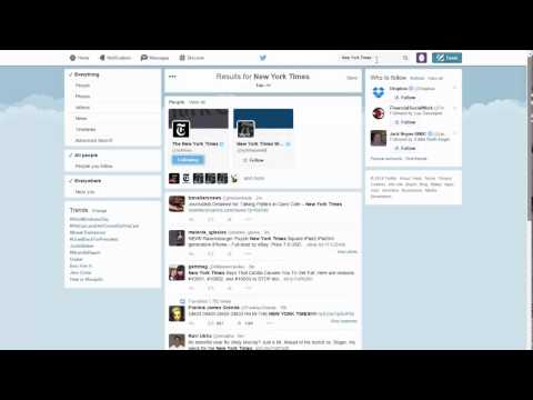Twitter news video