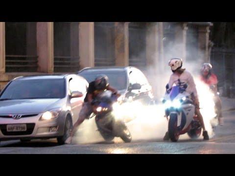 Yamaha R1 Fail! Burnout Goes Wrong - Bikers Special