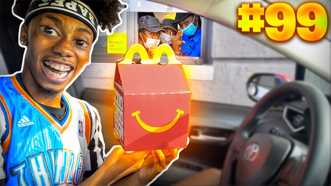 Going Through The SAME McDonald's Drive Thru 100 Times.. MUST WATCH!