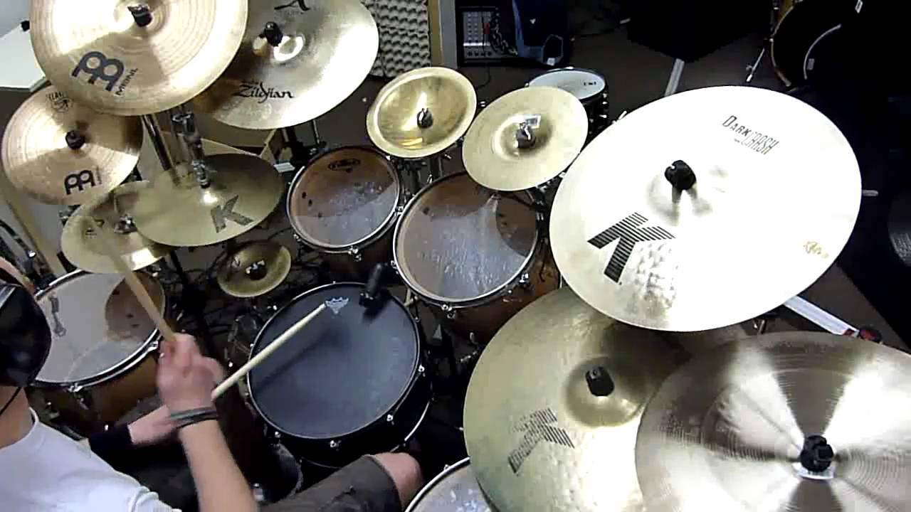 J.G. Born Of Osiris - Live Like I m Real !!DRUMS!! - YouTube c50318f1e45