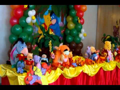 Winnie Pooh by Carmen Party for Kids - YouTube