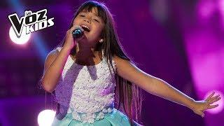 Lala canta Un Mundo Ideal - Audiciones a ciegas | La Voz Kids Colombia 2018