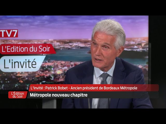 L'Édition du Soir | L'invité | Patrick Bobet, maire du Bouscat, ex-président de région