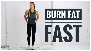 Low Impact FAT BURNING HIIT Workout // No Jumping Workout!