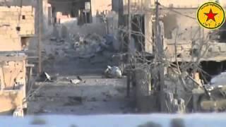 Kobanê'den Sıcak çatışma Görüntüleri