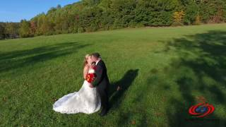 Kristie & Kevin's Wedding Recap Video (Drone Intro)