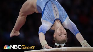Jade Carey outscores Simone Biles on vault at gymnastics worlds | NBC Sports