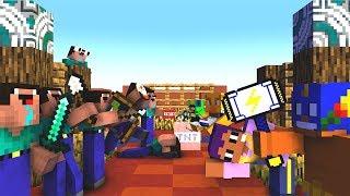 NOOB TEAM vs BRAWL STARS TEAM in Minecraft / BRAWL STARS FUNNY MOMENTS / BRAWL STARS LIVE