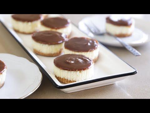 Dulce De Leche Mini Cheesecakes Recipe