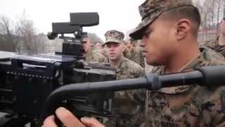 LATVIA!  U.S. Marines Train with Lativan Military Weapon Systems!