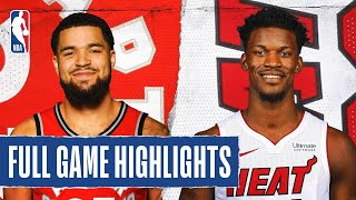 RAPTORS at HEAT | FULL GAME HIGHLIGHTS | August 3, 2020