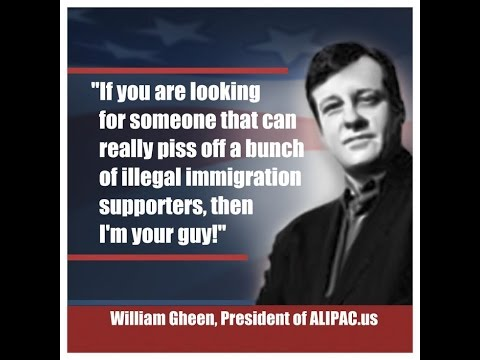 "William Gheen ""Illegal Immigration & Summer of Blood"""