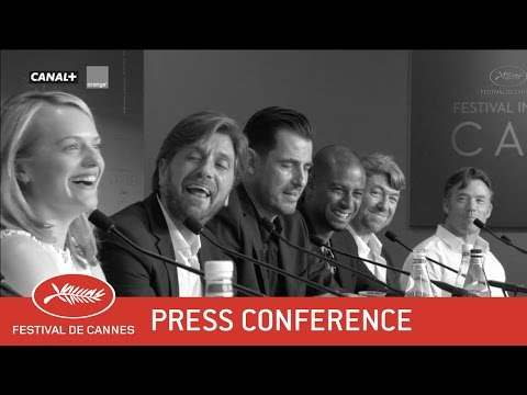 THE SQUARE - Press Conference - EV - Cannes 2017