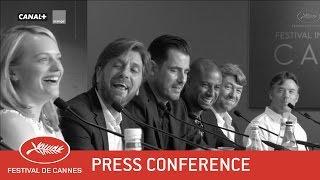 THE SQUARE - Press Conference - EV - Cannes 2017