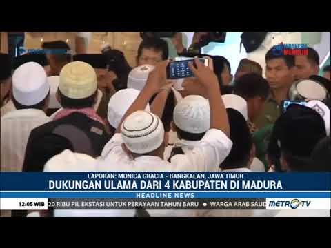 Jokowi Hadiri Deklarasi Dukungan Ulama Madura
