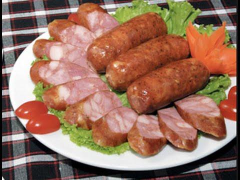 Đồ ăn Vặt- Làm Xúc xích tại nhà ngon như Xúc xích Đức Việt