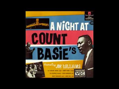 Joe Williams - A Night at Count Basie's ( Full Album )