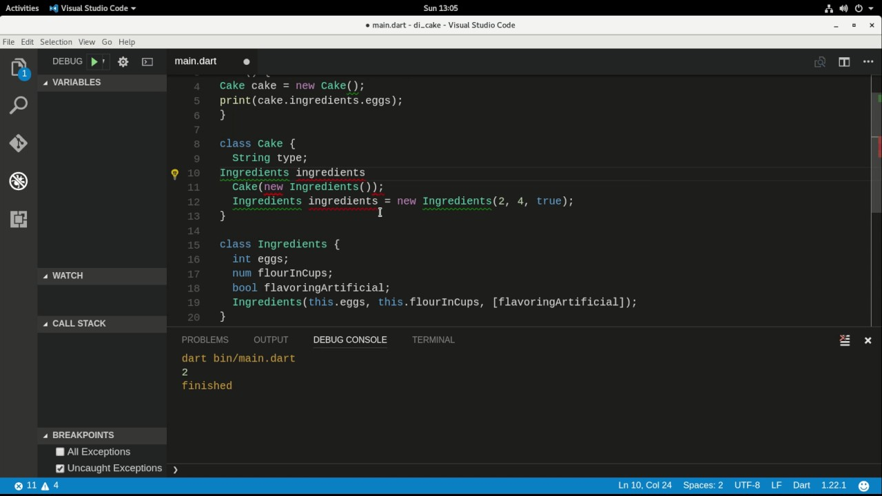 Dart for Intermediates:  Dependency Injection