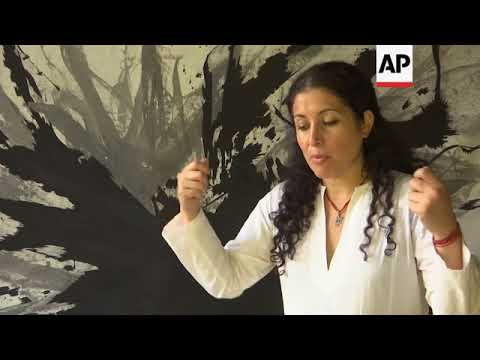 Artist aims to heal war scars of Lebanon