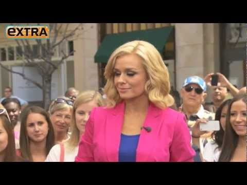 Katherine jenkins performs at the   grove in LA  LIVE !!!!!!!!!!!!!!.mp4