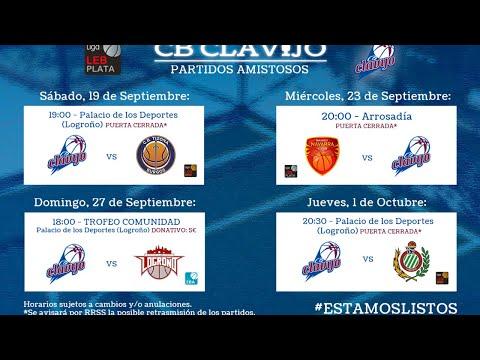 Club Baloncesto Clavijo VS Levitec Huesca