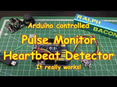 #64 Lie Detector! Heartbeat Pulse Monitor KY039 - It's life Jim, but not as we know it