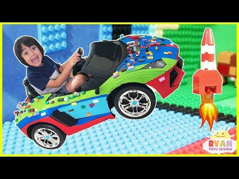 Thumbnail: Family Fun Mayka Toy Block Tape Challenge! Kids Pretend Playtime with Ryan ToysReview