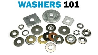All About Washers - Types & Materials, USS vs SAE | Fasteners 101