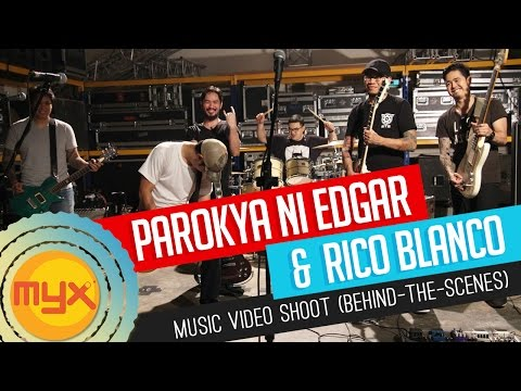"Behind-the-scenes of Parokya Ni Edgar and Rico Blanco's ""Sing"" music video shoot!"