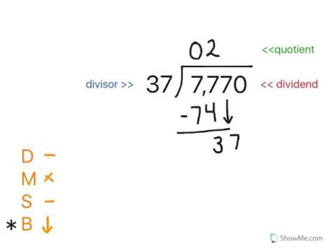 5th Grade Math: Division - Standard Algorithm - YouTube