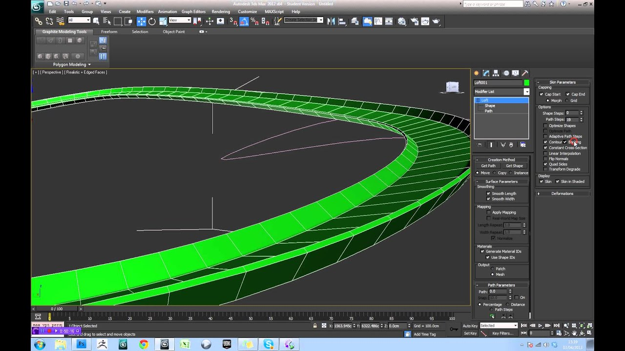 Circuito Wipeout : Dsmax wipeout track creation tutorial part youtube