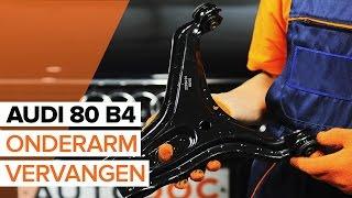 Hoe een voorste onderarm vervangen op een AUDI 80 B4 [HANDLEIDING]