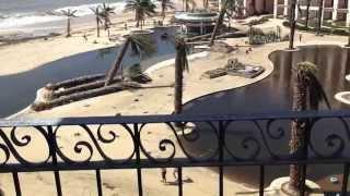 Hyatt Ziva at Los Cabos experiences Hurricane Odile