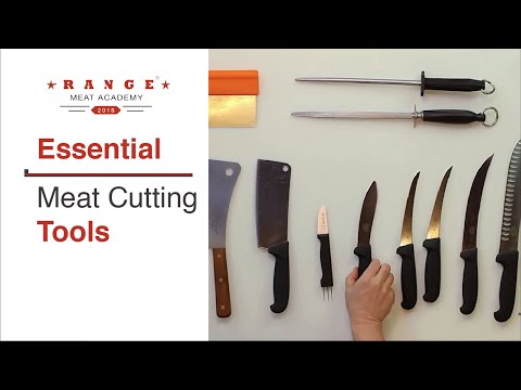 Range® Meat Academy Butcher Tools