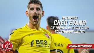 Ched Evans on scoring a brace against Scunthorpe | Post Match