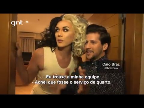 Manila Luzon interview with Caio Braz on GNT Fashion, Brazil