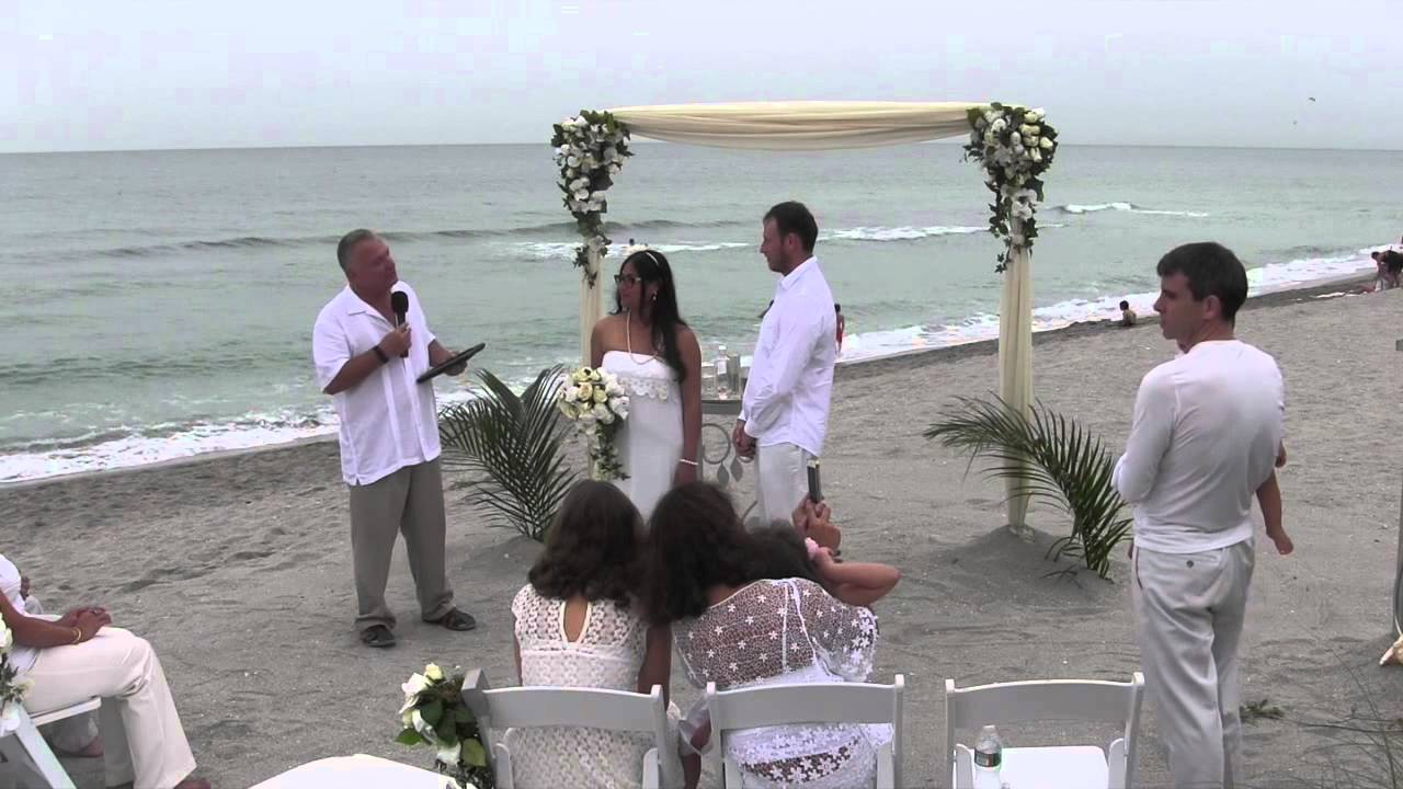 Turtle Beach Florida Small Wedding Ceremony