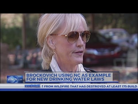 Erin Brockovich References NC In Push For New Drinking Water Standards