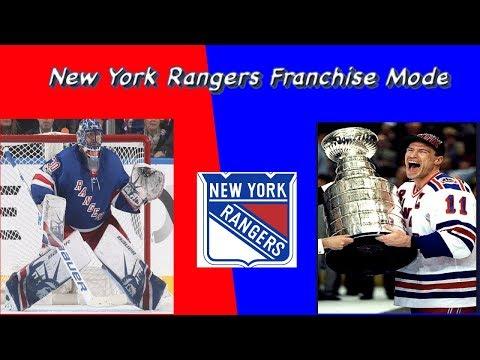 New York Rangers Franchise Mode Episode 4: End of Season 2! - NHL 18 - GM Mode Commentary