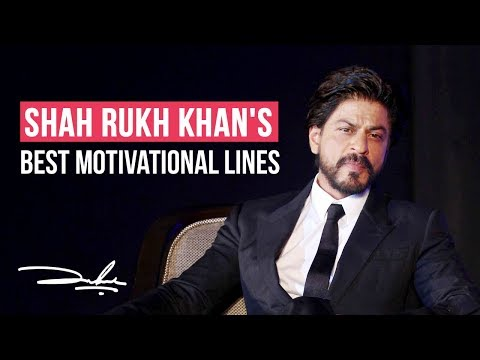 Shah Rukh Khan's BEST motivational speech on his birthday