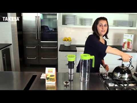 Takeya Flash Chill Iced Tea Maker How-To (Fresh-Brewed to Chilled Iced Tea in Minutes)