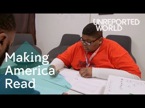 Tackling America's illiteracy problem | Unreported World