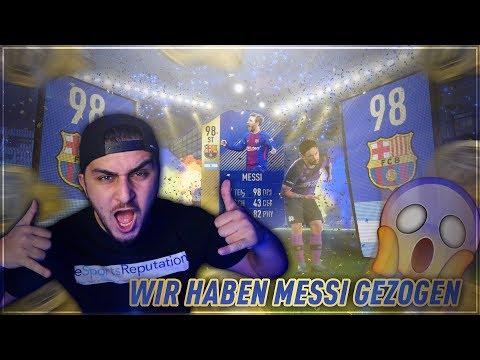 FIFA 18: OMG! MESSI TOTS GEZOGEN😱😱 TOP 100 FUT CHAMPIONS REWARDS!   SERKAN ISAK